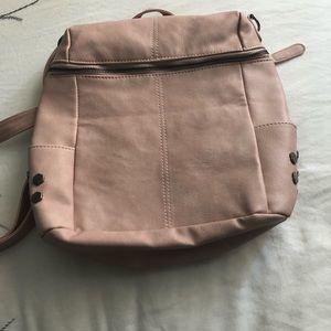 Handbags - Blush Pink Backpack